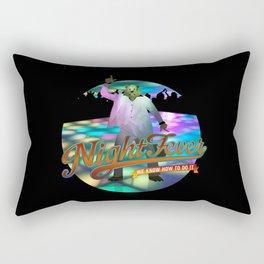 Night Fever Rectangular Pillow