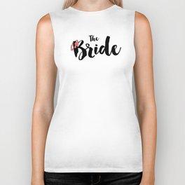 The Floral Bride Biker Tank