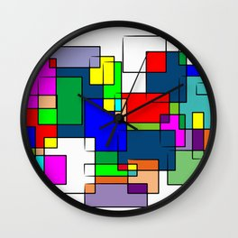 Flashback Colour Wall Clock