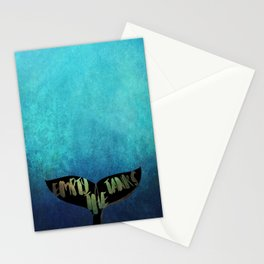 Empty the Tanks - A Pledge for Orcas Stationery Cards