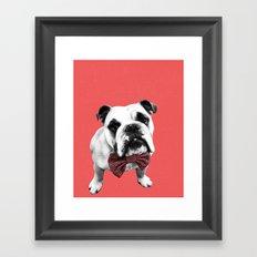 Red Bowser Framed Art Print