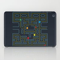pacman iPad Cases featuring Pacman by Virbia