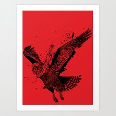 Red Baron Art Print