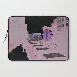 Denver Poster Laptop Sleeve