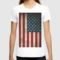 american flag T-shirts featuring American Flag  by  Can Encin
