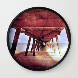 Under The Jetty Wall Clock
