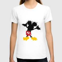 Mickey Mouse Paint Splat Magic T-shirt