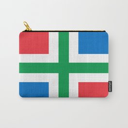 Groningen region Netherlands province Flag Carry-All Pouch