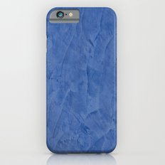 Tuscan Blue Plaster iPhone 6 Slim Case