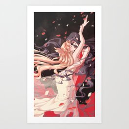Familiar, A Gleam - Mars/Venus Art Print