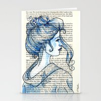 geisha Stationery Cards featuring Geisha by Karen Hallion Illustrations