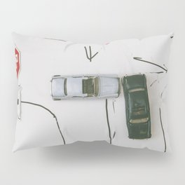 Toy cards on the road Pillow Sham