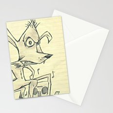 Skanking Wolf Stationery Cards