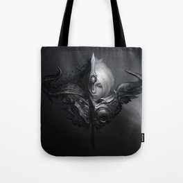 Dawnbringer Riven Nightbringer Yasuo Comic Wallpaper Official Art League of Legends Tote Bag