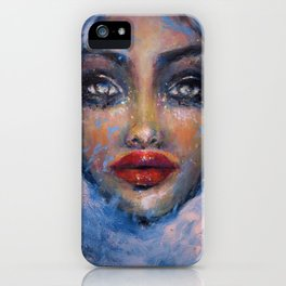 Formation of a cloud iPhone Case