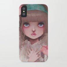 Le coeur en liesse... iPhone X Slim Case