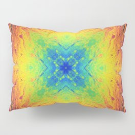 Psychedelic Two Pillow Sham