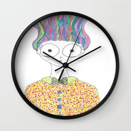 Born To Stand Out Wall Clock