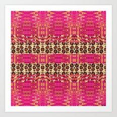 Leopard Chic Art Print