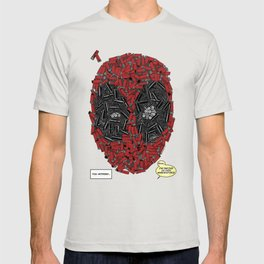 You Missed - Dead-pool Comic Style Portrait T-shirt