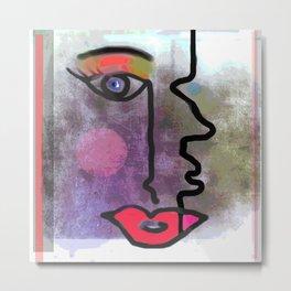 Woman/Man Metal Print