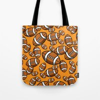 rugby Tote Bags featuring Rugby by joanfriends