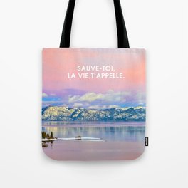 _SAUVE TOI Tote Bag