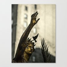 A Cry For Peace Canvas Print