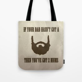 A Real Man Tote Bag