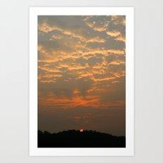Good Morning Korea Art Print