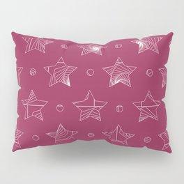 Rose Pink Pattern Pillow Sham