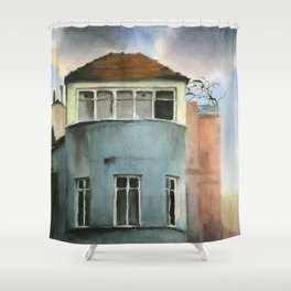 Absence Shower Curtain