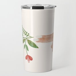 Floral Pistol Travel Mug