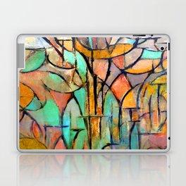 Piet Mondrian Trees Laptop & iPad Skin