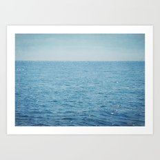 Summer Sea Art Print