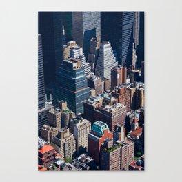 New York City - Manhattan #1 Canvas Print