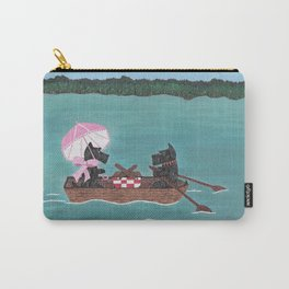Sunday Afternoon - Scotties-Scottish Terriers Carry-All Pouch
