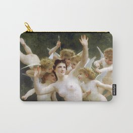 The Invasion (The Wasp's Nest) Le Guêpier by William-Adolphe Bouguereau Carry-All Pouch
