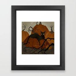 The Pumpkin Patch Framed Art Print