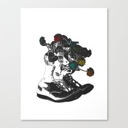Life in These Boots Canvas Print