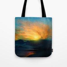 In the sunrise Tote Bag