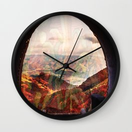 Yarn Scope Wall Clock