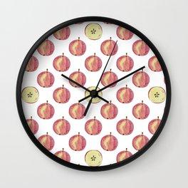 Apple mood Wall Clock