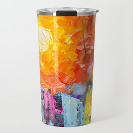 Oil Colours Travel Mug