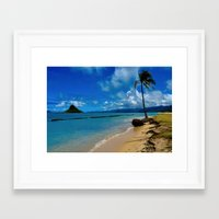 hawaiian Framed Art Prints featuring Hawaiian Dreams by Upperleft Studios