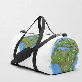 Data Earth Duffle Bag