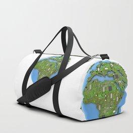 Data Earth Duffle Bag