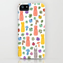 Animals & Lucky charms iPhone Case