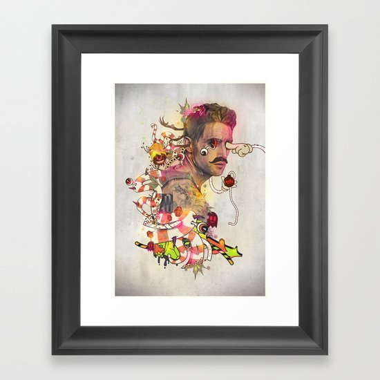 Zero Framed Art Print