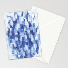 Rainy Crowd Stationery Cards